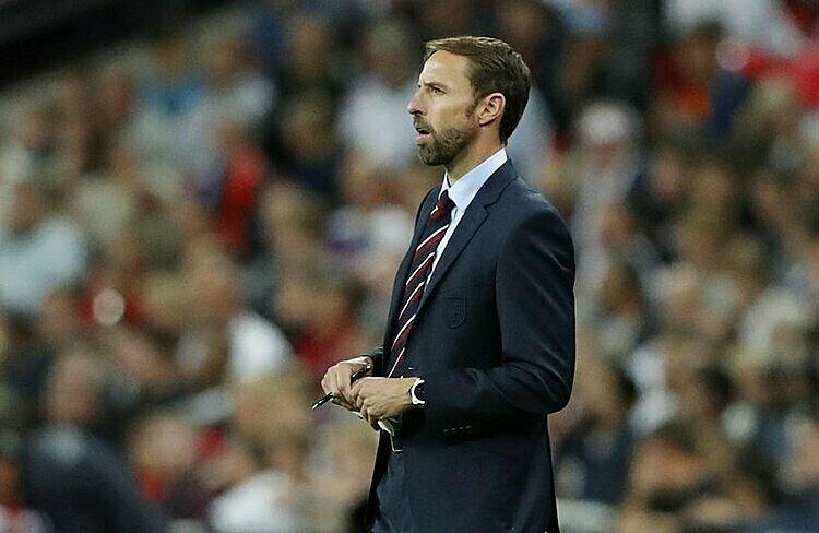 Lương Southgate hiện tại nhiều gần gấp bốn lần thời ông dẫn dắt U21 Anh. Ảnh: AP.