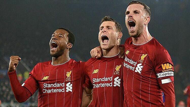 Liverpool đã thắng 27 trong 29 trận mùa này. Ảnh: Sky.