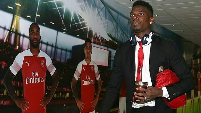 Pogba hâm mộ Arsenal