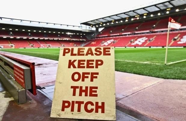Ngoại hạng Anh chưa có kế hoạch thi đấu trở lại. Ảnh: LFC.