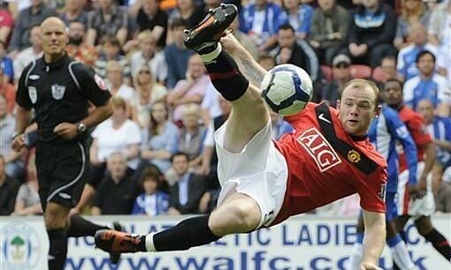 Rooney ghi nhiều bàn thắng đẹp trong sự nghiệp. Ảnh: Reuters.