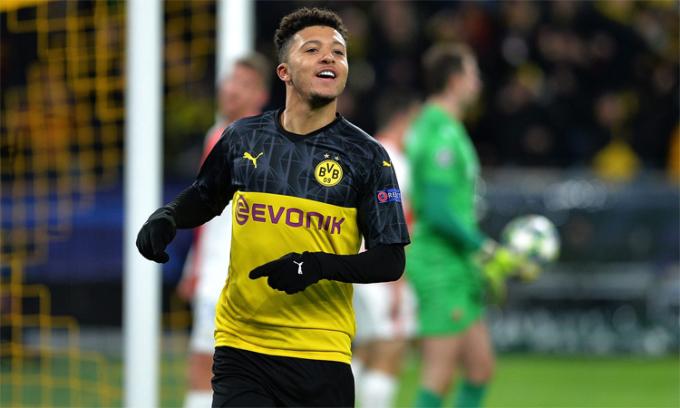 Dortmund tự tin giữ chân Sancho
