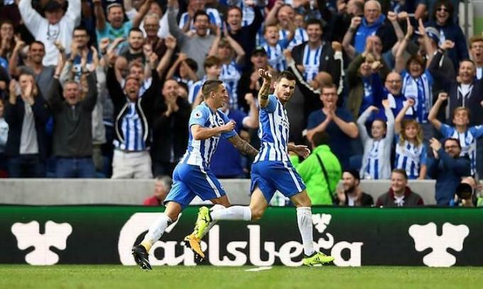 Brighton có 5 trận sân nhà trong 9 trận còn lại của mùa giải. Ảnh: Reuters.