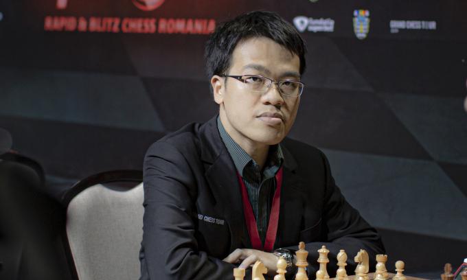 Quang Liêm sẽ lần đầu dự một siêu giải mời, kể từ Romania Grand Chess Tour 2019. Ảnh: GCT.