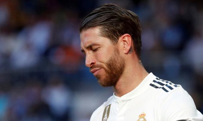 Lương năm của Ramos sẽ giảm 5 triệu USD, nếu quyết định giảm lương được thông qua. Ảnh: Reuters.