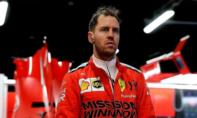 Vettel sẽ khép lại sáu năm thi đấu cho Ferrari. Ảnh: Ferrari.com.