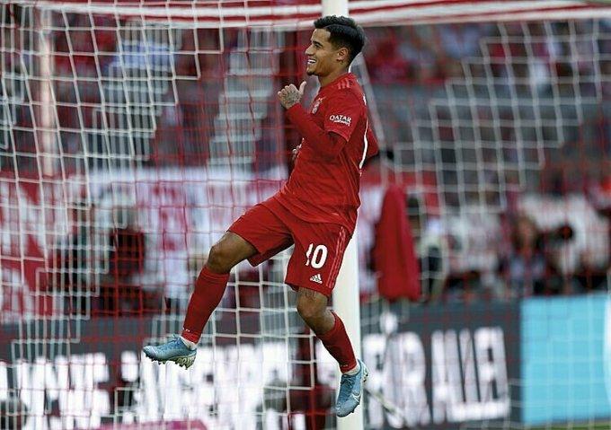 Coutinho không duy trì được phong độ từng thể hiện tại Liverpool. Ảnh: AP.