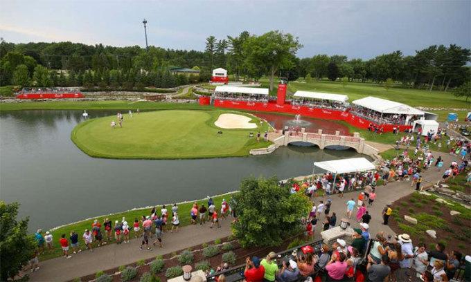 Tổ hợp Midland Country Club lỗi hẹn với LPGA Tour này, khiDow Great Lakes Bay Invitational bị huỷ. Ảnh: DGLB.