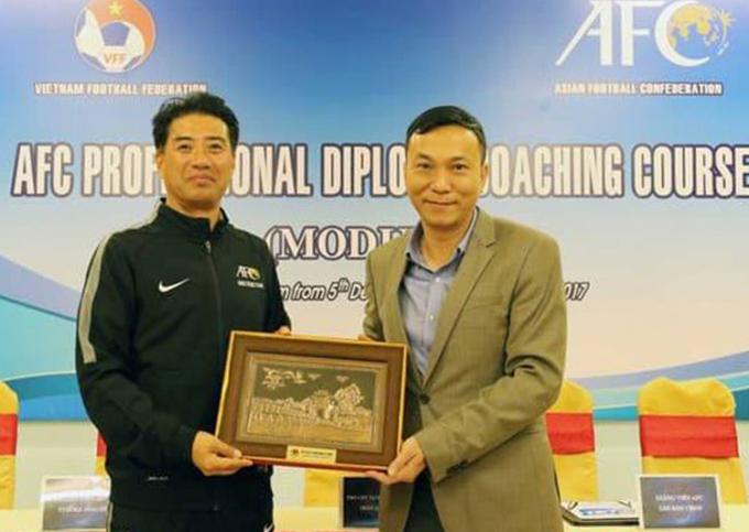 VFF ký hợp đồng với Giám đốc Kỹ thuật Adachi tới 2023