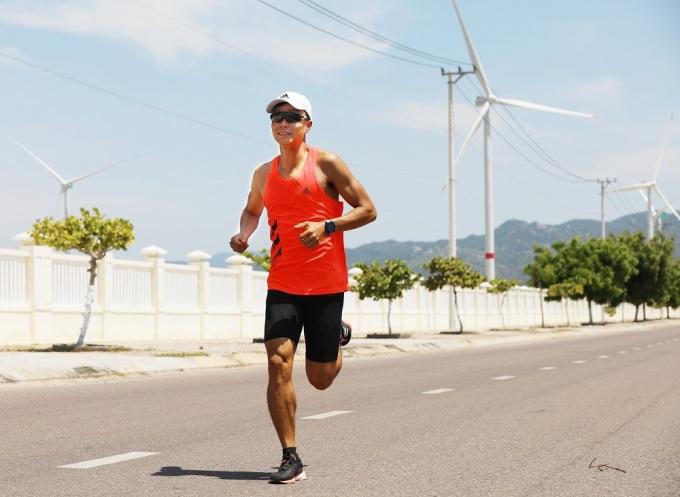Lê Quang Hòa chạy thử đường đua VM Quy Nhơn 2020