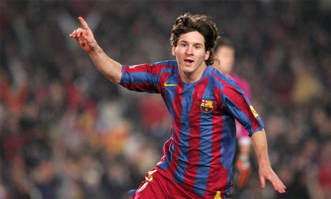 Messi tỏa sáng đỉnh cao khi còn rất trẻ. Ảnh: FCB.