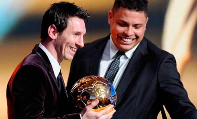 Messi là cầu thủ mà Ronaldo Nazario thích xem nhất. Ảnh: EFE.