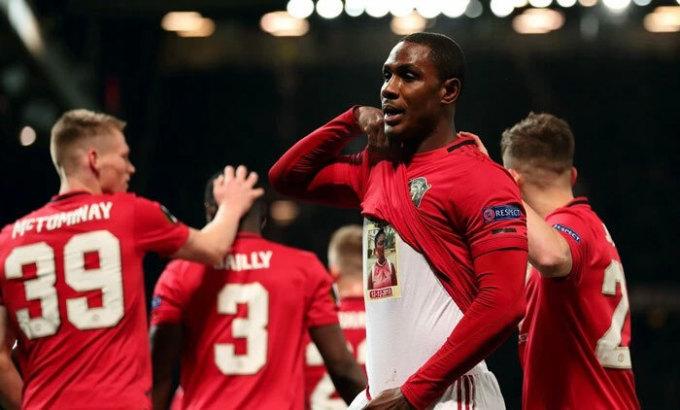 Ighalo chơi thành công trong tháng đầu khoác áo Man Utd. Ảnh: Reuters.