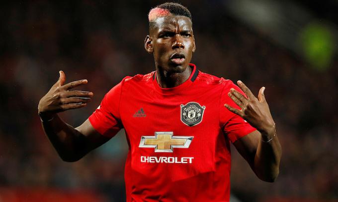 Tương lai của Pogba tại Man Utd chưa rõ ràng. Ảnh: Reuters.