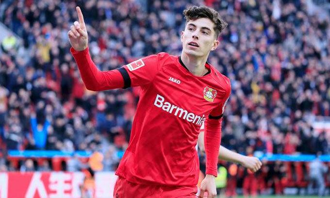 Havertz đang là tiền vệ hàng đầu Bundesliga. Ảnh: Imago.