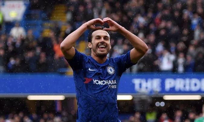 Pedro mới có 2 bàn cho Chelsea từ đầu mùa. Ảnh: Reuters.