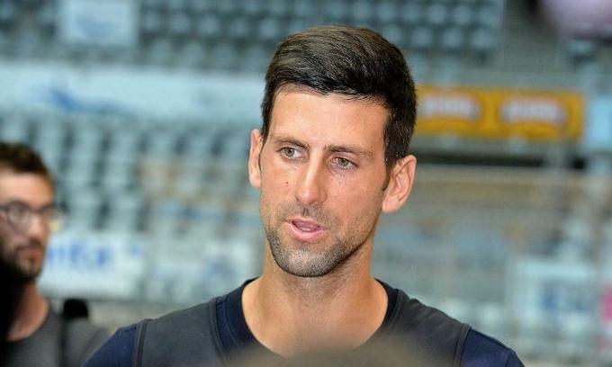 Djokovic từ chối xét nghiệm ở Croatia. Nếu bị phát hiện dương tính nCoV ở Croatia, anh sẽ bị cách ly tại đất nước này. Ảnh: HINA.