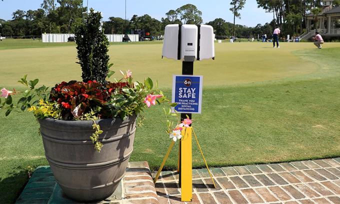 PGA Tour chấn chỉnh hàng rào phòng dịch