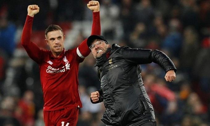 Klopp gây ấn tượng khi biến Liverpool trở thành một thế lực tại châu Âu. Ảnh: Reuters.