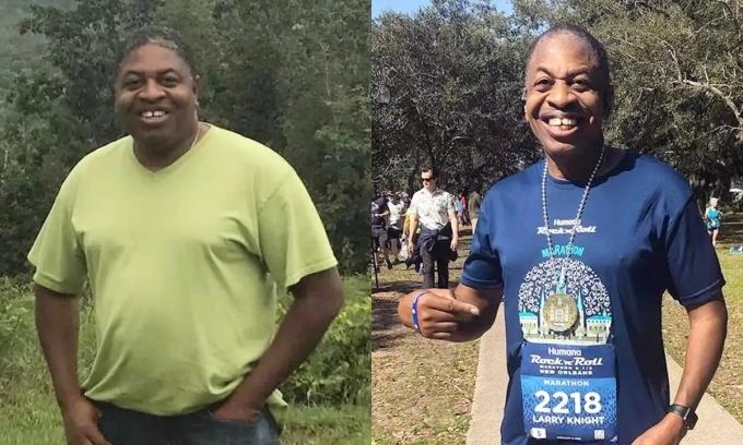 Giảm 25 kg trong ba năm nhờ chạy bộ