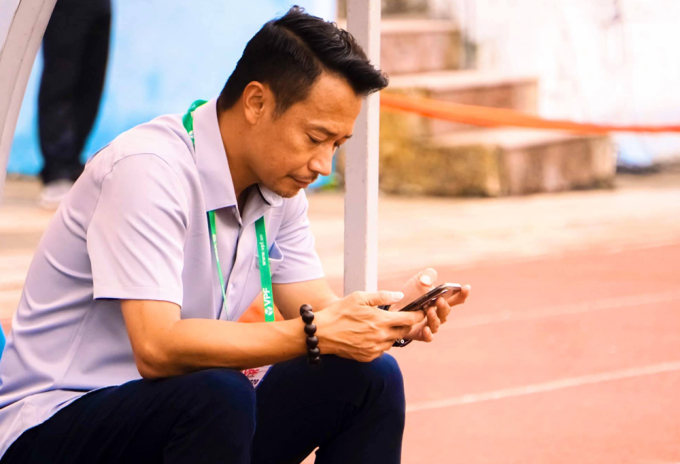 HLV Vũ Hồng Việt cho biết ông xin nghỉ để người khác lên, giúp Quảng Nam có thành tích tốt hơn.