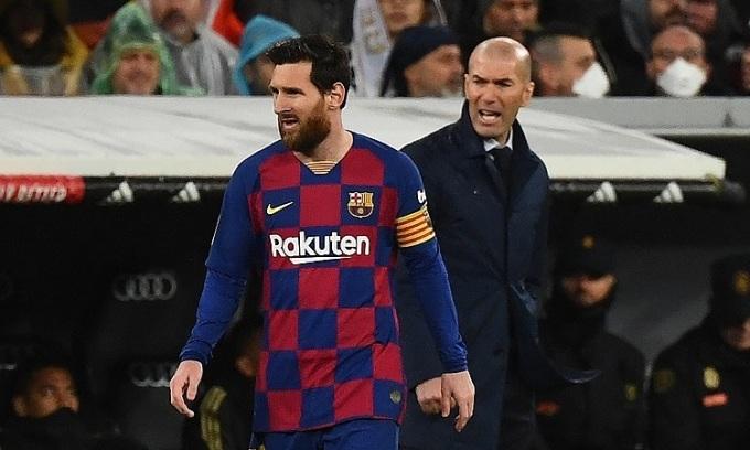 Zidane muốn Messi ở lại Barca