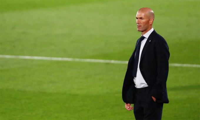 Zidane khiêm tốn và bình tĩnh trước cơ hội vô địch. Ảnh: Reuters.