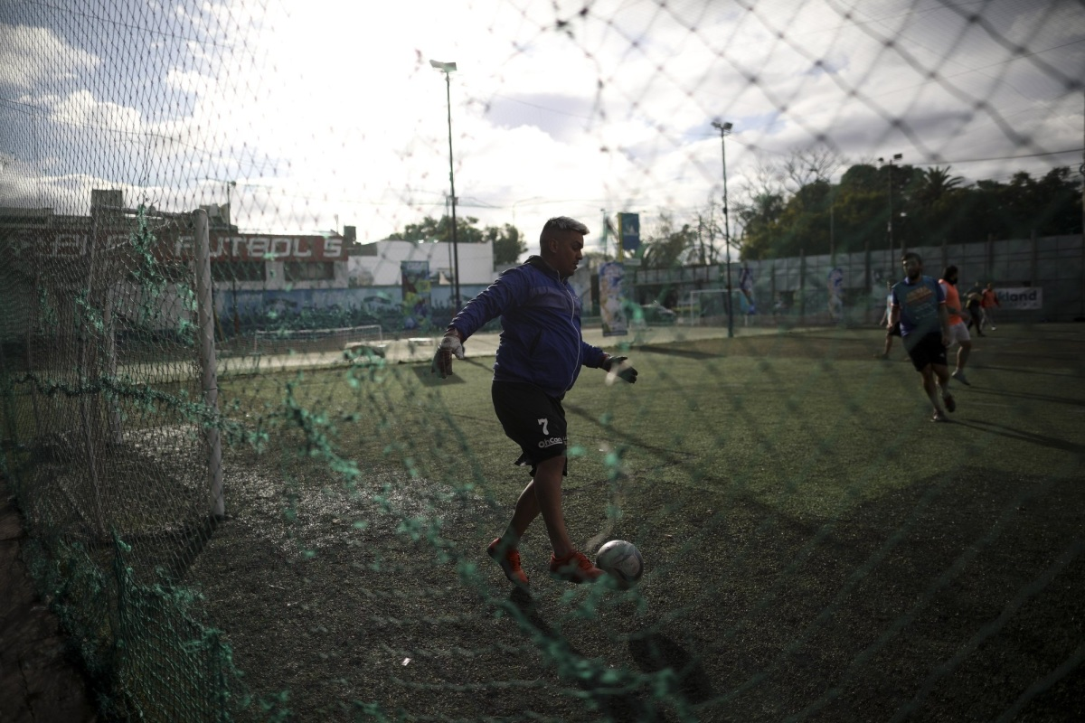 Đá bóng thời Covid-19 tại Argentina