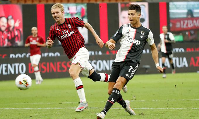 Ronaldo trên đường chinh phạt châu Âu