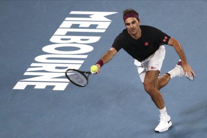 Federer không thi đấu trong gần nửa năm qua. Ảnh: AP.