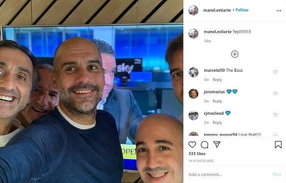 Bức ảnh xuất hiện trên tài khoản Instagram của Estiarte. Ảnh chụp màn hình.