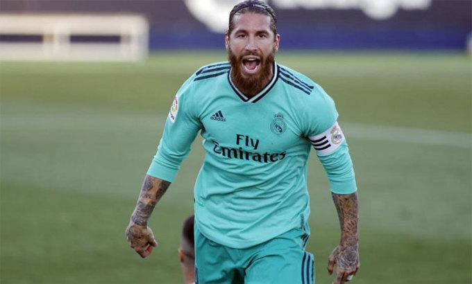 Ramos luôn biết cách tỏa sáng khi đội bóng cần. Ảnh: Marca.