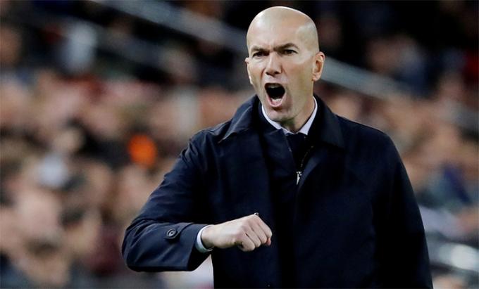 Công lớn nhất trong chiến thắng của Real thuộc về Zidane. Ảnh: Reuters.