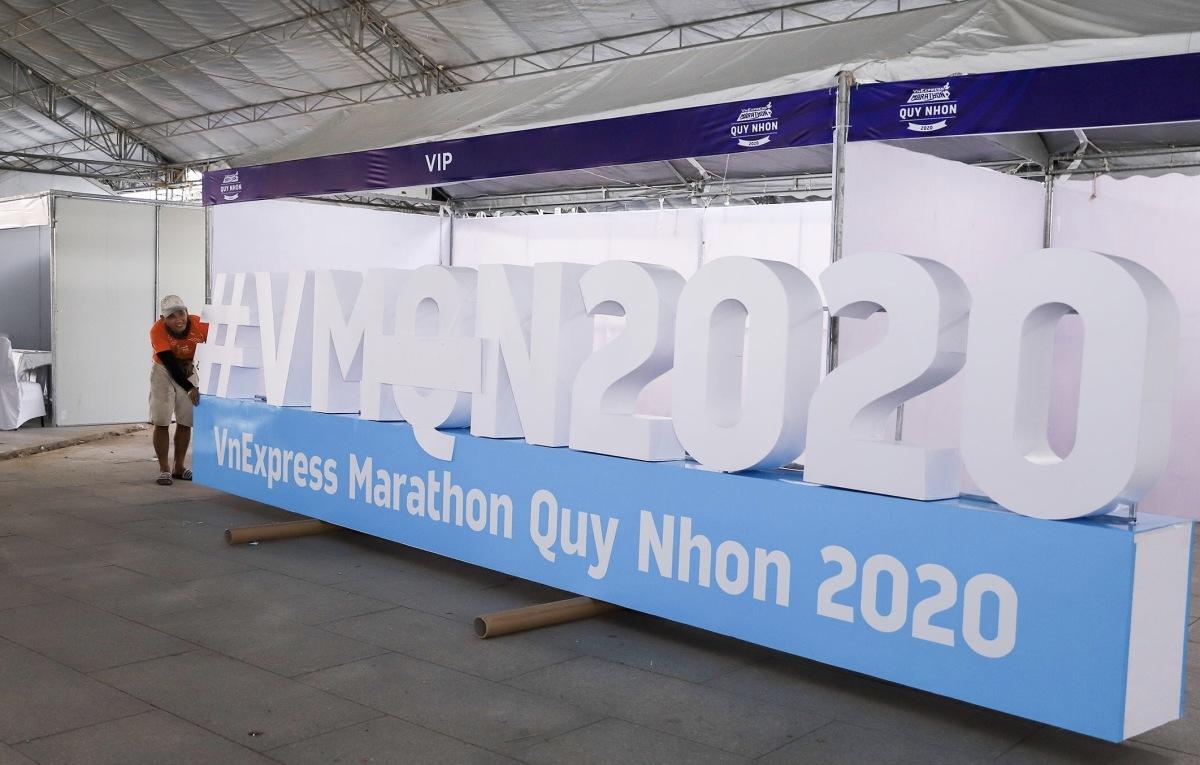 VnExpress Marathon 2020 Quy Nhơn sẵn sàng đón runner