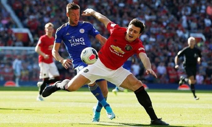 Trận đấu giữa Man Utd và Leicester sẽ xác định chủ nhân của hai tấm vé dự Champions League còn lại. Ảnh: Reuters.