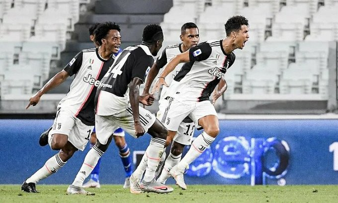 Juventus tiếp tục thống trị Serie A. Ảnh: AFP.