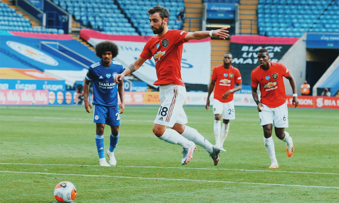 Bruno Fernandes tạo ra bước ngoặt quan trọng nhất về chất lượng lối chơi cho Man Utd mùa này.