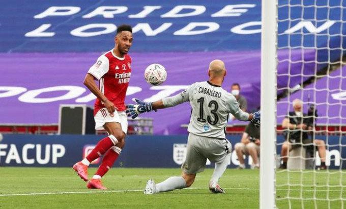 Arsenal chưa chắc giữ được Aubameyang. Ảnh: Reuters.