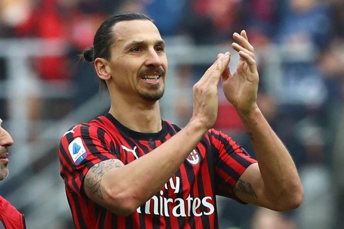 Milan ghi tới 47 bàn sau 22 trận từ ngày Ibrahimovic chuyển đến San Siro. Ảnh: AFP.