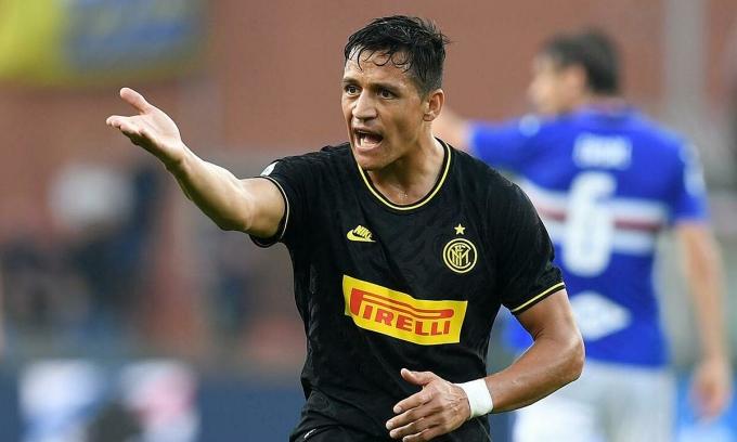 Sanchez sẽ trở thành người của Inter. Ảnh: Reuters.