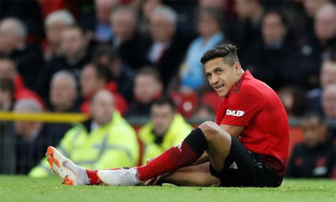 Sanchez là một thất bại của Man Utd. Ảnh: Reuters.
