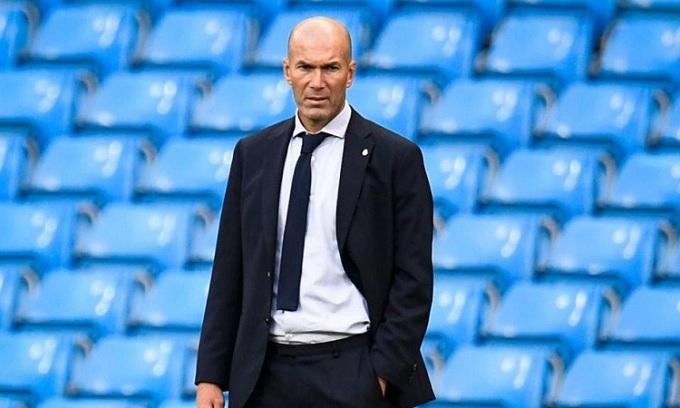 Chuỗi thành tích ấn tượng của Zidane tại Champions League bị chặn đứng. Ảnh: AFP.