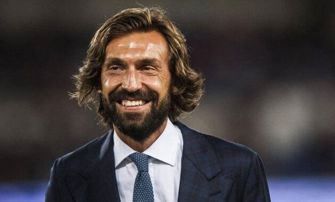 Pirlo không ngờ câu chuyện vui với Galliani trở thành hiện thực chỉ sau vài ngày. Ảnh: Reuters.