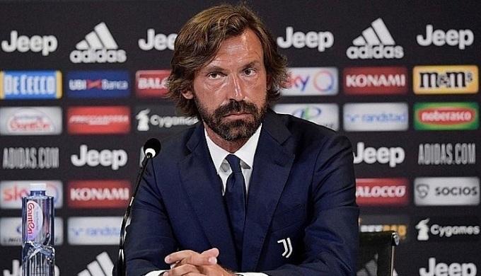 Pirlo mới giải nghệ năm năm 2017 và có bằng UEFA Pro hồi năm 2019. Ông chưa từng có kinh nghiệm huấn luyện đỉnh cao. Ảnh: JFC.