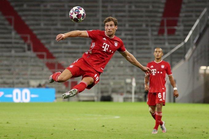 Goretzka khoác áo Bayern từ năm 2018.