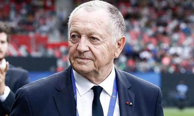Aulas cho rằng Lyon đã vượt qua nghịch cảnh để vào bán kết Champions League. Ảnh: AFP.