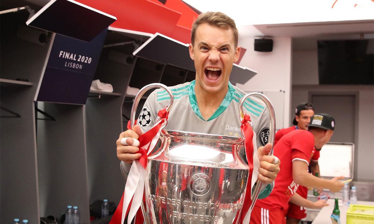 Bayern vỡ òa với Cup Champions League
