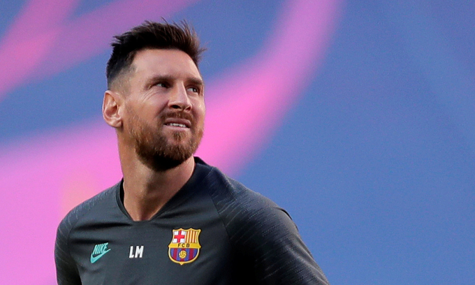 Messi được ủng hộ trong cuộc đối đầu với Bartomeu. Ảnh: Reuters