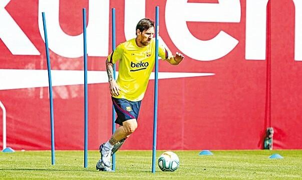 Messi sẽ không nổi loạn ở Barca. Ảnh: FCB