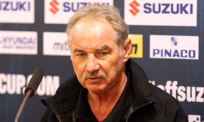 HLV Alfred Riedl từng dẫn dắt đội tuyển Việt Nam trong thập niên 1990 và 2000. Ảnh: Đức Đồng.